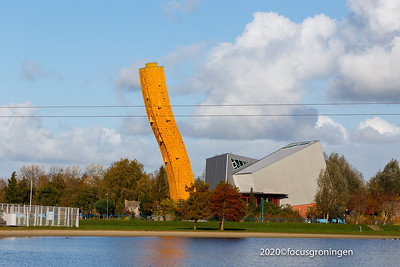 nederland 2020, groningen, bieskemaar, klimtoren