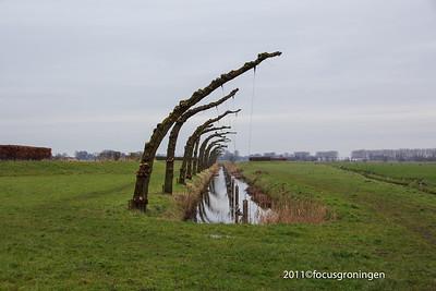 nederland 2011, groningen, noorddijkerweg, stadsmarkering S07