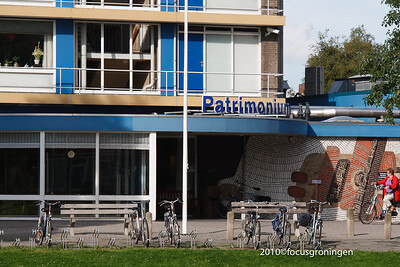 nederland 2010, groningen, beukenlaan, patrimonium