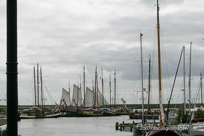 nederland 2007, enkhuizen, havenweg