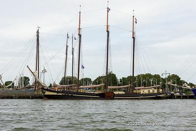 nederland 2021, enkhuizen, ijsselmeer, zuiderzeemuseum