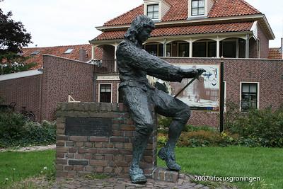 nederland 2007, enkhuizen, havenweg, paulus potter