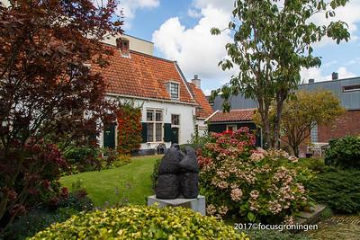 nederland 2017, haarlem,bakenessergracht, hofje van bakenes