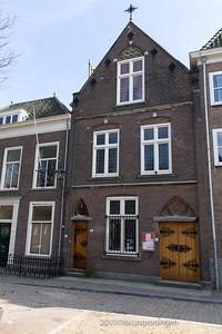 nederland 2011, delft, begijnhof, oud katholieke schuilkerk