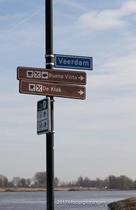 nederland 2017, kinderdijk, veendam, oversteek