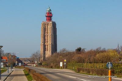 nederland 2012, westkapelle, grindweg, vuurtoren