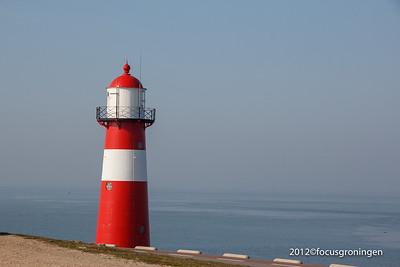 nederland 2012, westkapelle, zeedijk, vuurtoren noorderhoofd