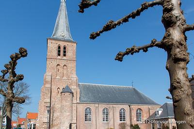 nederland 2012, domburg, kerkstraat, n.h. kerk