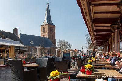 nederland 2012, domburg, markt