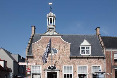 nederland 2012, domburg, markt, stadhuis