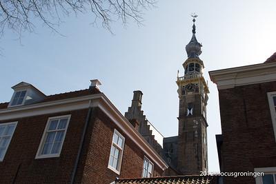 nederland 2012, veere, kaai, stadhuistoren