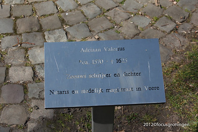 nederland 2012, veere, kerkstraat, adriaan valerius