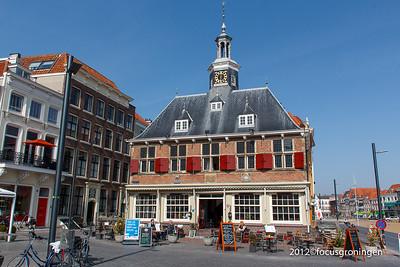 nederland 2012, vlissingen, beursplein, beursgebouw