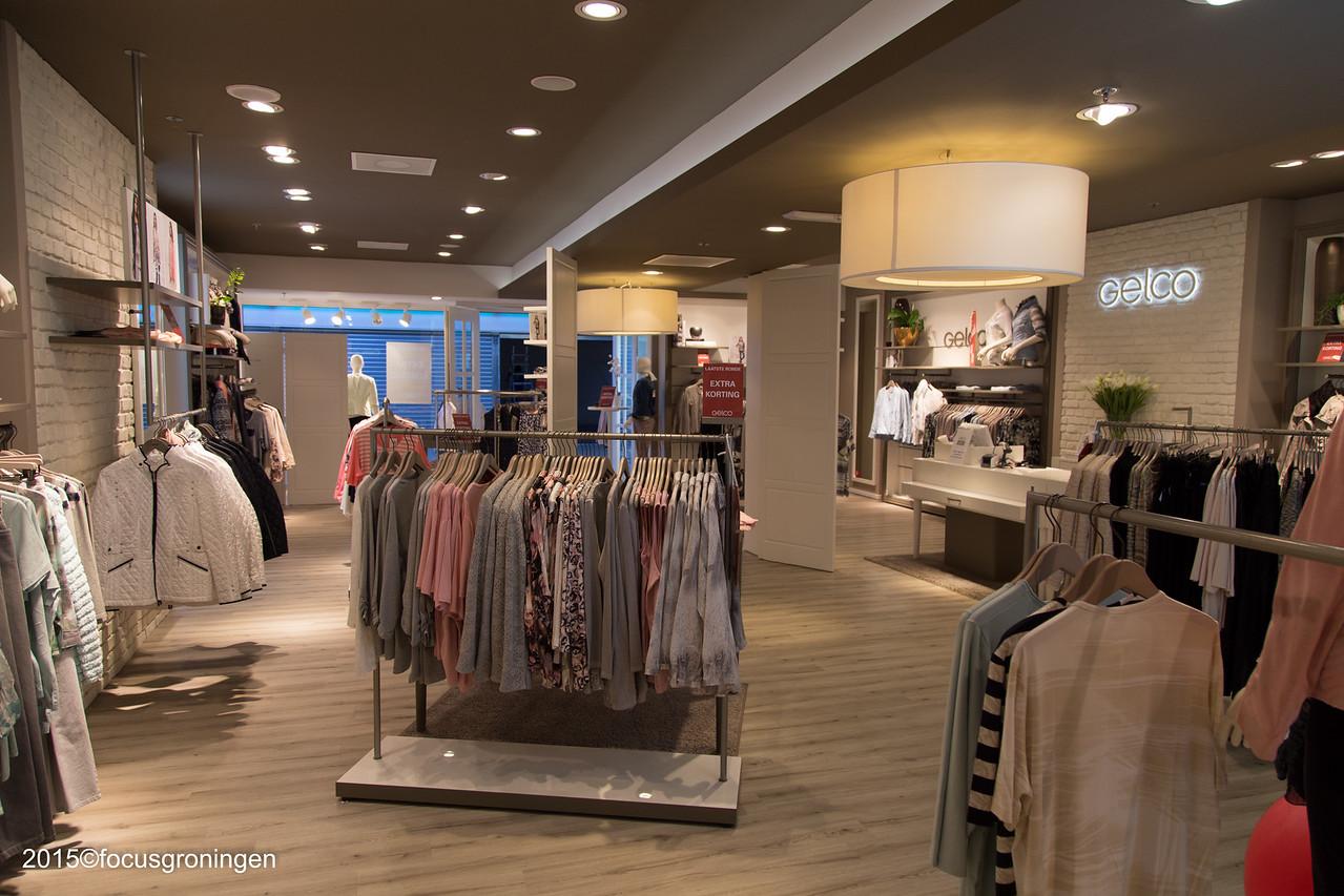 nederland 2016, groningen, paddepoel, winkelcentrum, gelco mode