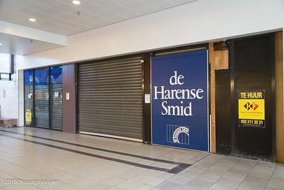 nederland 2016, groningen, paddepoel, winkelcentrum, de harense smid