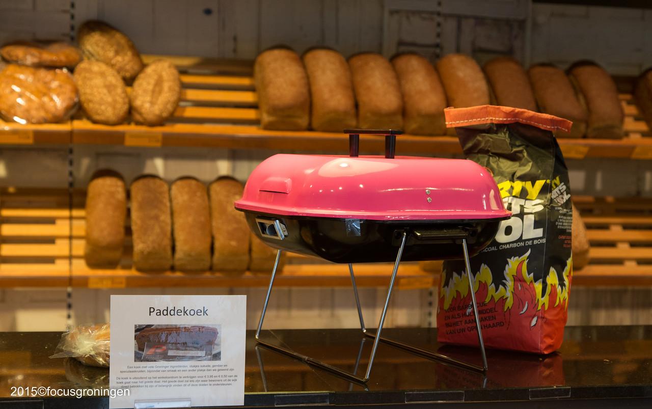 nederland 2015, groningen, paddepoel, winkelcentrum, bakkerij van esch