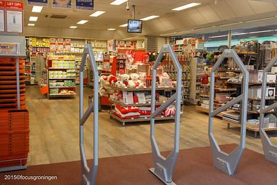 nederland 2015, groningen, paddepoel, winkelcentrum, blokker