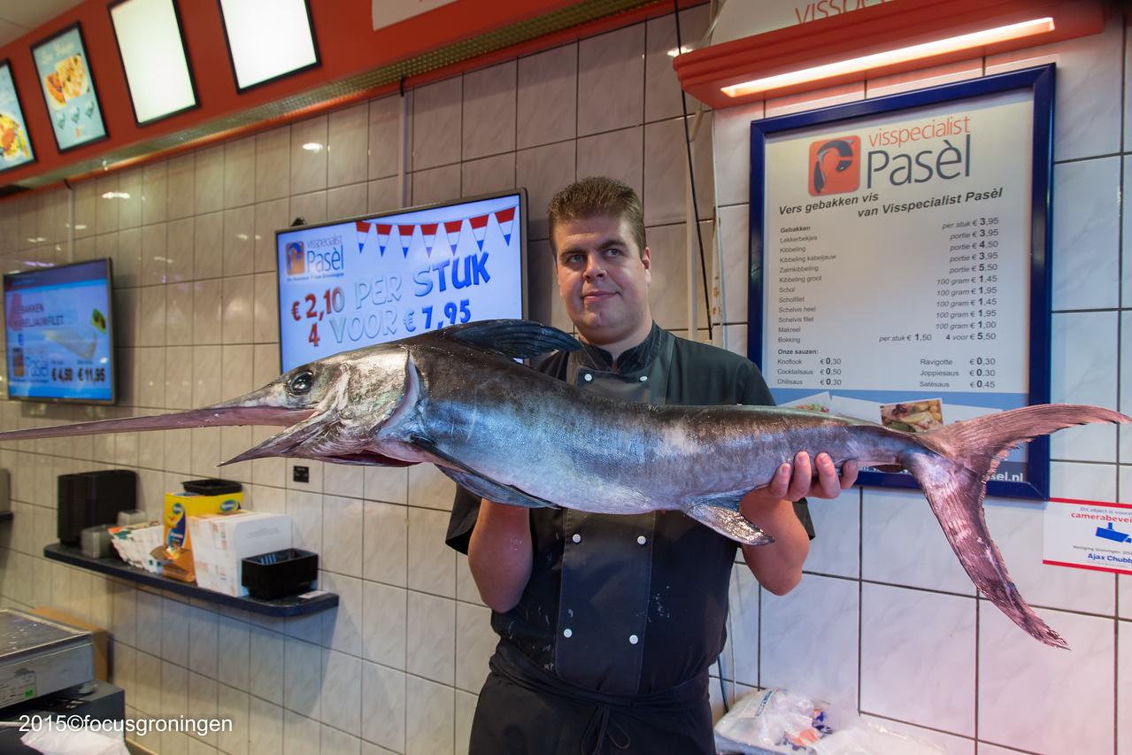 nederland 2015, groningen, paddepoel, winkelcentrum, visspecialist pasel, dierenriemstraat