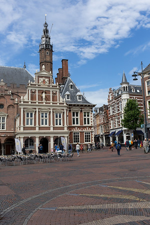 The Town hall of Haarlem