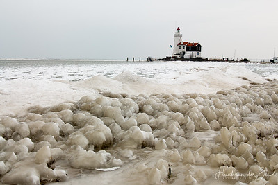 Marken in de Winter