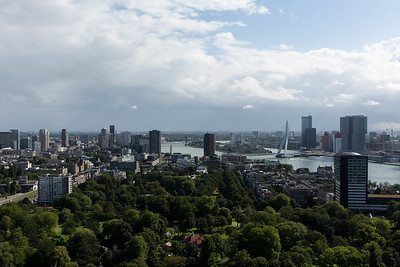 Rotterdam, view from Euromast