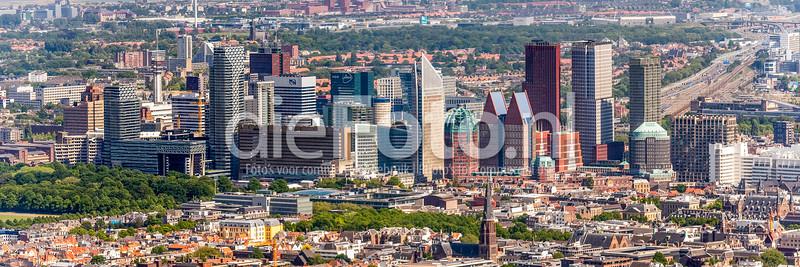Skyline centrum Den Haag