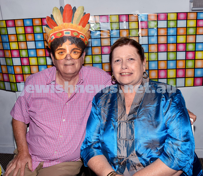 Purim at Nefesh Synagogue. Ivan and Veronica Kessel. Pic Noel Kessel