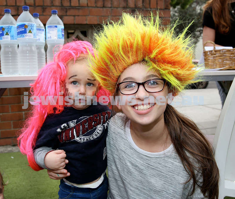 Kids Purim Party at Nefesh. Pic Noel Kessel.