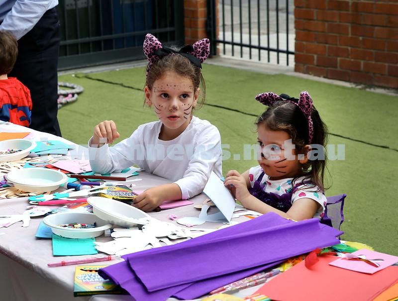 Kids Purim Party at Nefesh. Pic Noel Kessel.