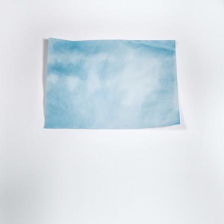 Sky Blue on White