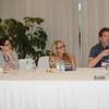De izquierda a derecha: Anna Romanelli, de Fundación AVINA, Fátima Sánches, de Reebok, y David Hertz, de Gastromotiva.