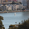 Sailboat on Lake Merritt