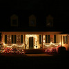 The Riddle House at Christmas.