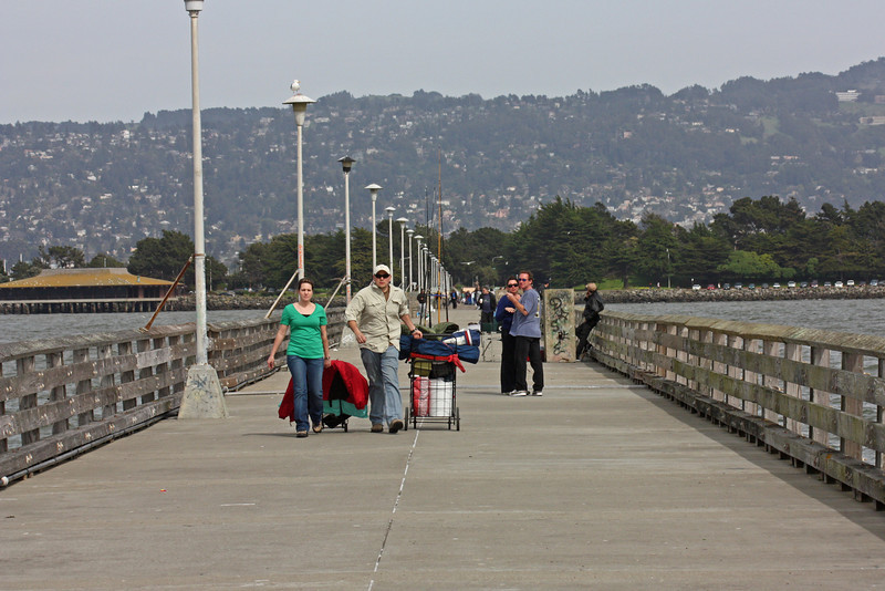 On the fishing pier