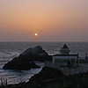 Sunset at the Cliff House, April 2, 2010