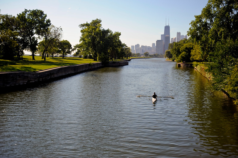 Lincoln Park with Skyline view