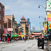 Wentworth Avenue in Chicago's Chinatown neighborhood