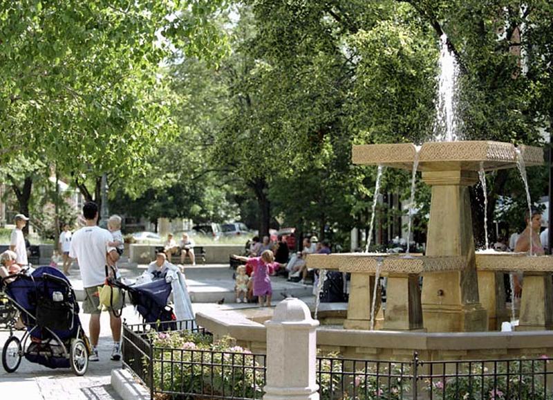 Lincoln Square Fountain