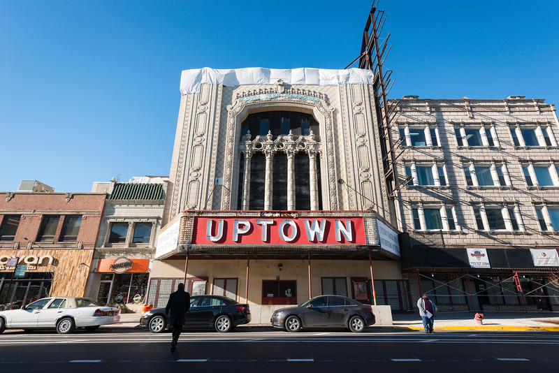 Uptown Theatre building on N. Broadway St. landmark