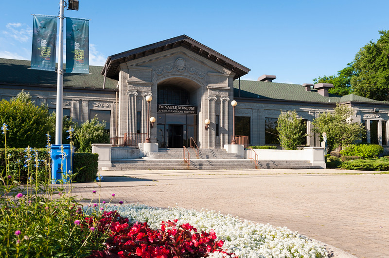 DuSable Museum of African American History building in Washington Park