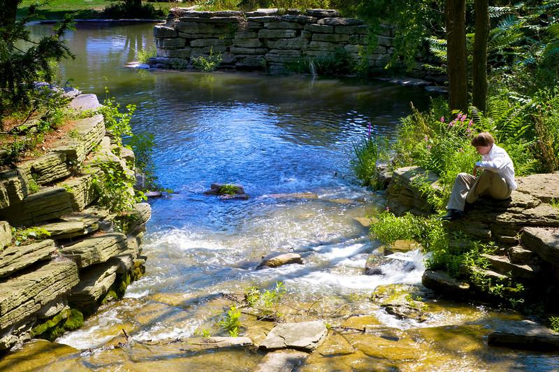 North Park Village Waterfall