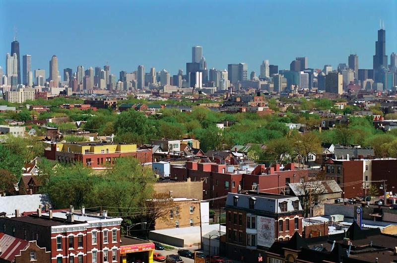 Neighborhood with view of Skyline
