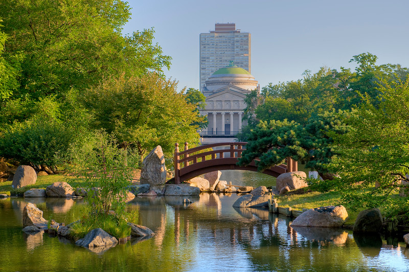 Osaka Garden in Chicago, 5800 South Shore Drive