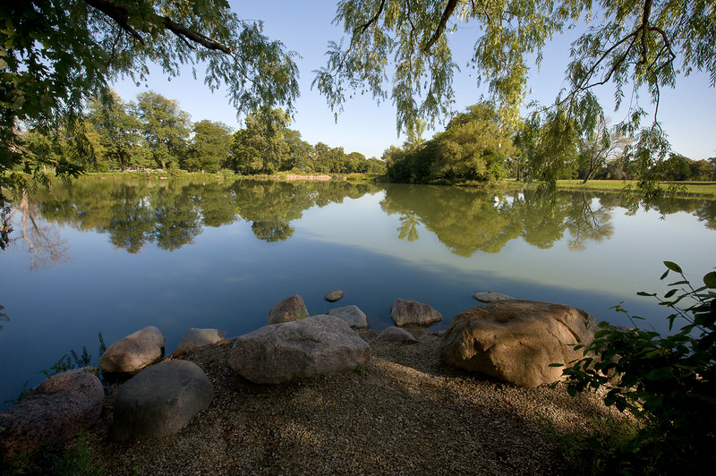 Washington Park in Chicago designed by Frederick Law Olmsted and Calvert Vaux