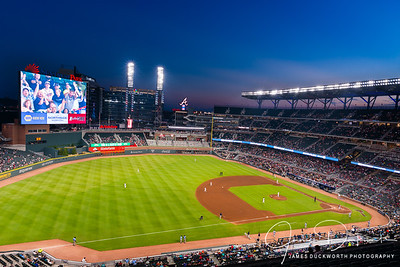 Suntrust Stadium Field View at Dusk