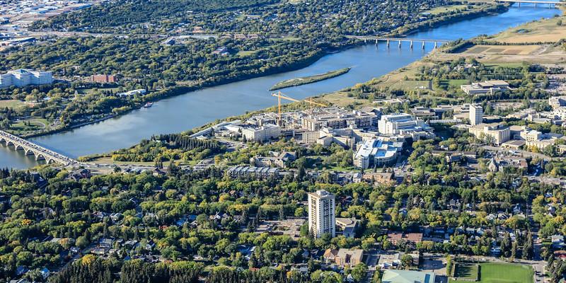University of Saskatchewan Aerial