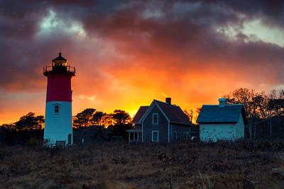Nauset Light Sunset