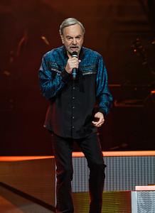 Neil Diamond at The Palace of Auburn Hills on 6-02-17.  Photo credit: Ken Settle