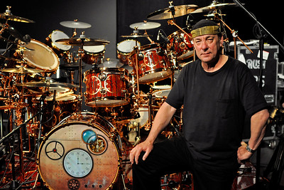 Neil Peart Time Machine drum kit