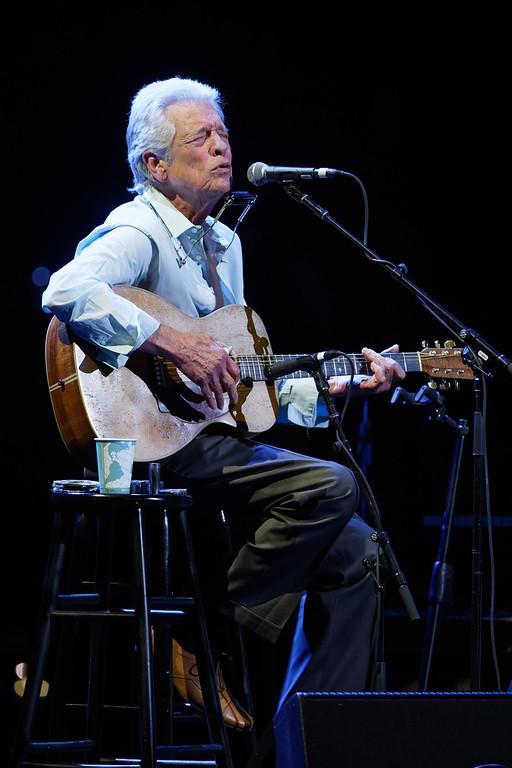. John Hammond live at The Fox Theatre in  Detroit on 7-3-2018.  Photo credit: Ken Settle